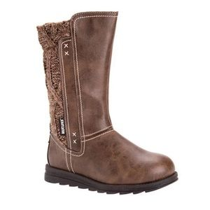 Muk Luks Brown Stacy Boots